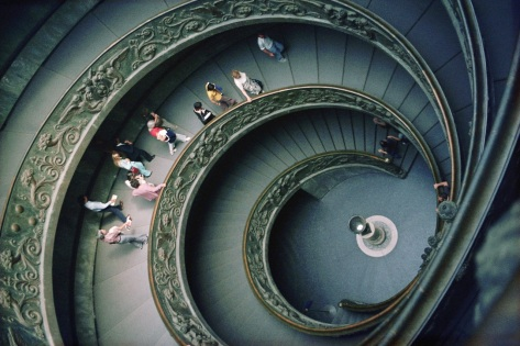 Double Spiral Staircase Inside Vatican Museums